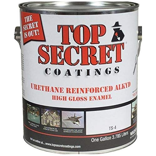 TS-4 Urethane Reinforced Alkyd Epoxy-Ester Resin - 1 Quart (Gloss, 455 Sugar Cookie)