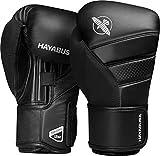 Hayabusa T3 Boxing Gloves Men and Women Black/Red, 16oz