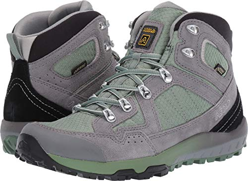 (Asolo Landscape GV ML Hiking Boot - Womens, Hedge Green, 7, A40507 A40507)