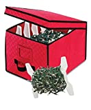 Whitmor Christmas Light Box Storage Container, Pack of 2