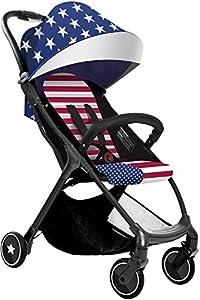Babysing S-GO Folding Portable Multifunctional Baby Umbrella Stroller, Super Lightweight Shock Suspension Design Infant Pushchair With Canopy