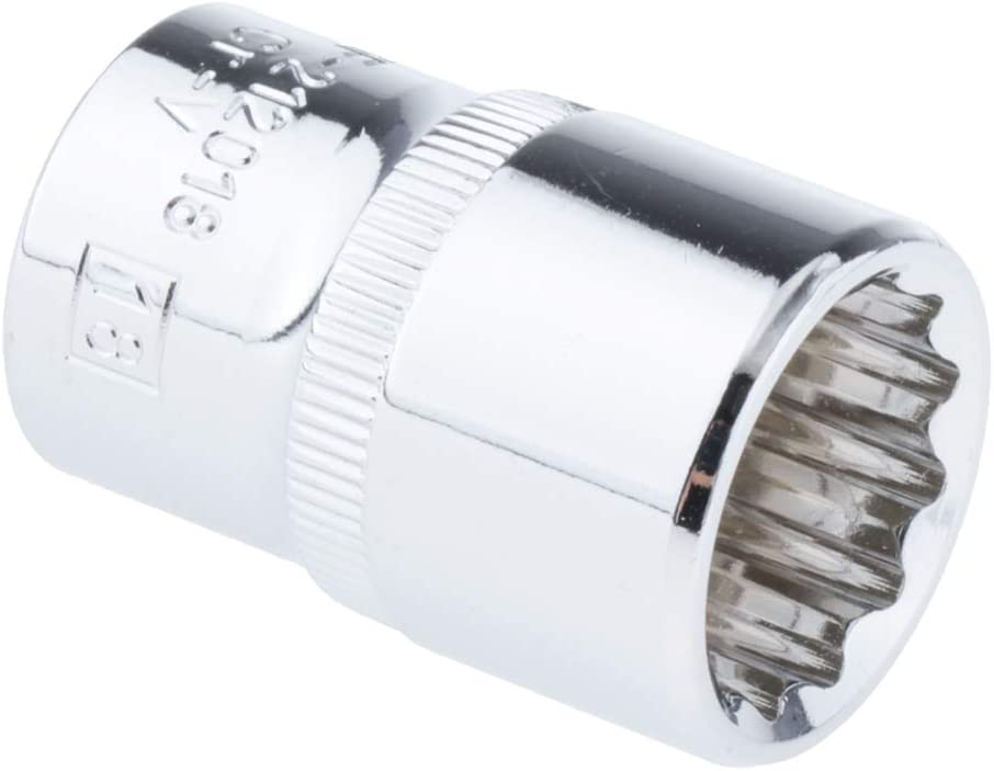 15mm 8mm-32mm Generic 1PC Metric MM 1//2 inch Drive 12 Point Socket Set