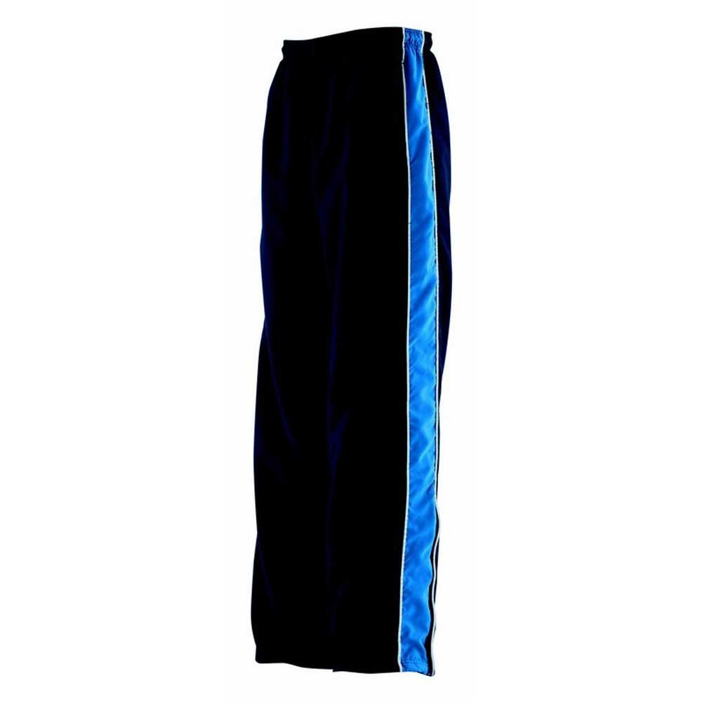 Finden & Hales Mens Microfibre Piped Contrast Track Pant