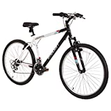 """Dynacraft Speed Alpine Eagle Mens Road/Mountain 21 Speed Bike 26"""", Black/White """