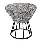 Cheap Indigo Bay Outdoor Grey Wicker Accent Table