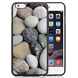 NEW Unique Custom Designed HTC One M8 Phone Case With Soft White Beach Rocks_Black Phone Case