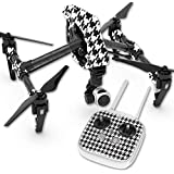 Skin For DJI Inspire 1 Quadcopter Drone – Houndstooth | MightySkins Protective, Durable, and Unique Vinyl Decal wrap cover | Easy To Apply, Remove, and Change Styles | Made in the USA