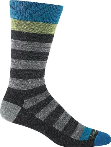 Darn Tough Vermont Men's Warlock Crew Light Hiking Socks made in New England
