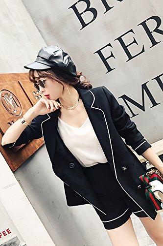 63b508f2d82e Amazon.com   Spring and Autumn new Korean fashion suit small ...