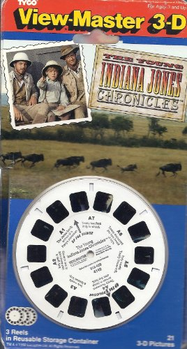 The Young Indiana Jones Chronicles 3d View-Master 3 Reel Set