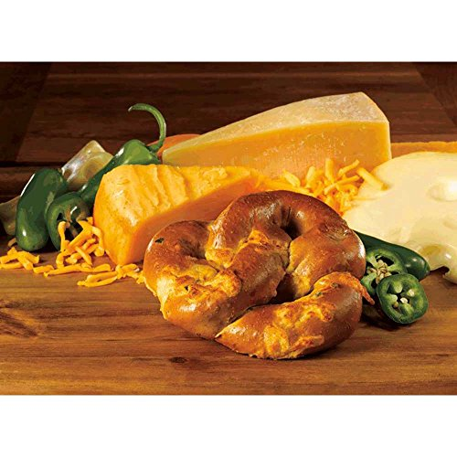 - Kim and Scotts Grilled Jalapeno Stuffed Pretzels, 6 Ounce -- 24 per case.