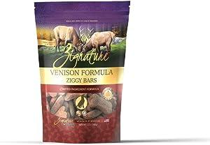 Zignature Venison Formula Biscuit Dog Treat 12oz