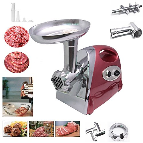 Ammiy® Electric Meat Mincer Grinder and Sausage Maker,Powerful 2800 Watt Copper Motor