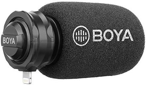 BOYA BY-DM200 Digital Stereo Condenser Shotgun Microphone