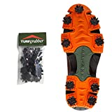 STABIL TurfGrabber, Made in USA, Turf Traction Cleats for Hilly, Wet, Uneven Terrain, Fits Over Shoes/Boots, 18 Replacement Cleats Included