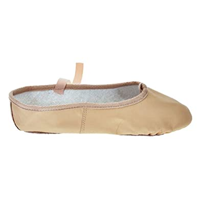 4eb5b2ee4b0 Starlite Basic Pink Leather Ballet Shoes  Amazon.co.uk  Shoes   Bags