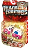 """Transformers Movie Series 2 """"Revenge of the Fallen"""" Deluxe Class 2 Pack 5 Inch Tall Robot Action Figures - Autobot SKIDS and MUDFLAP that Combines to Form ICE CREAM TRUCK"""