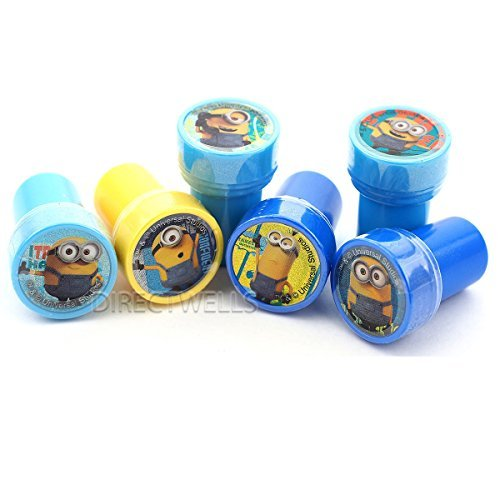 Minions Despicable Me Stampers Party Favors (10 Stampers) -