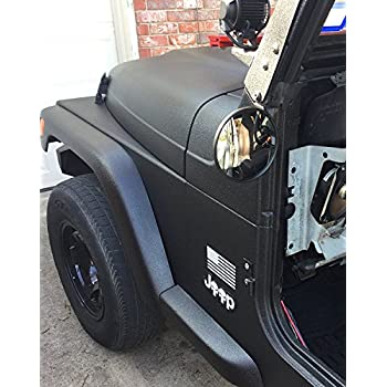 Amazon Com Doors Off Jeep Wrangler Side Hinge Mirrors