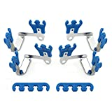 Mr. Gasket 9880 Deluxe Wire Loom And Separator Kit - Blue