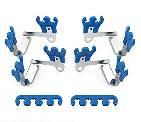 Mr. Gasket 9880 Deluxe Wire Loom And Separator Kit - Blue (Ignition Wire Separator)