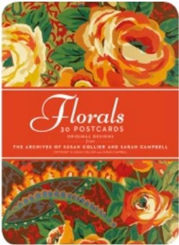 Florals: 30 Postcards: Original Designs From The Archives Of Susan Collier And Sarah Campbell