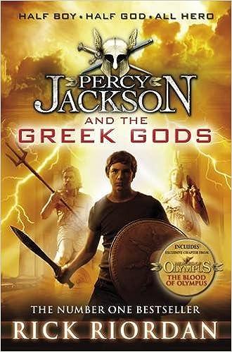 Percy Jacksons Greek Gods By Rick Riordan