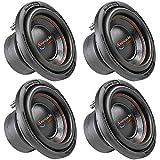 4 American Bass 10' Subwoofers Dual 4 Ohm 900 Watts Max Car Audio Sub XD Series