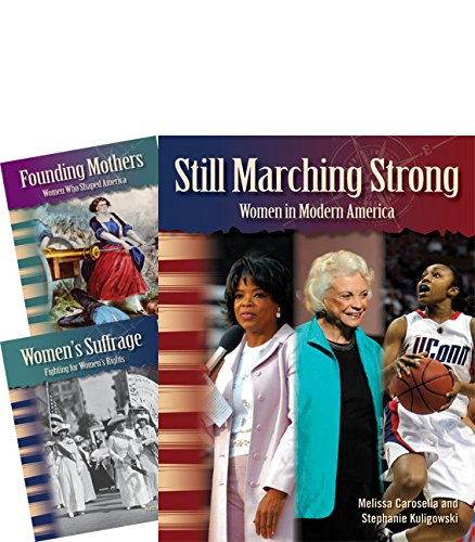 Teacher Created Materials - Primary Source Readers: Women in U.S. History - 3 Book Set - Grades 4-5 - Guided Reading Level R - T ()