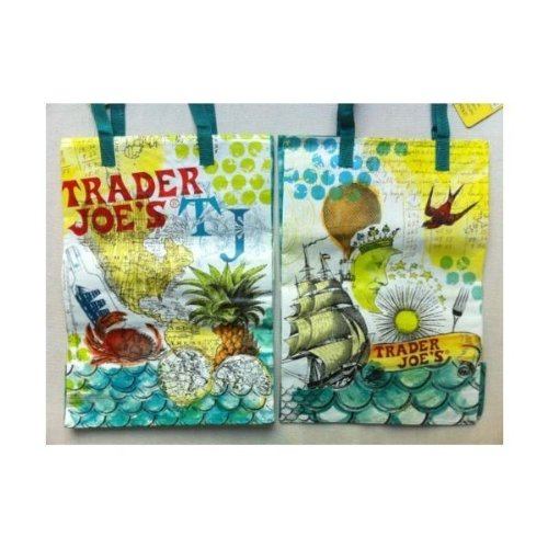 TRADER JOES REUSABLE SHOPPING GROCERY