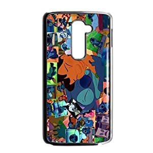 SANLSI Lilo & Stitch Case Cover For LG G2 Case