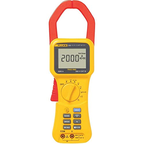 Best Fluke clamp meter - Fluke 355 Clamp Meter Review