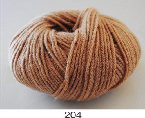 100% Luxurious Baby Alpaca Wool/Yarn from Peru, Honey Cream, 204 DK 50g, by Indiecita Baby Alpaca (Indiecita Baby Alpaca)