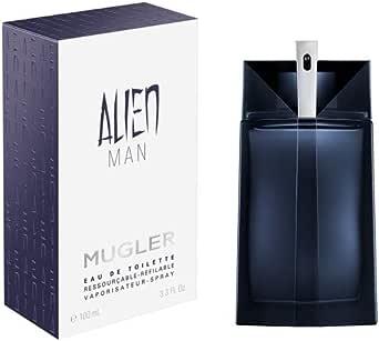 Thierry Mugler Alien Man Eau De Toilette, 100 ml, 100 ml / 3.4 oz (3439600029758)