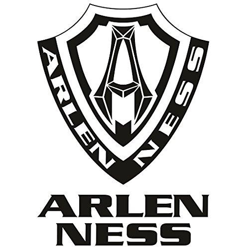 Arlen Ness Exhaust - Arlen Ness Redline 4 1/2in. Slip Ons - Black 7200104