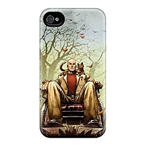 Tough Iphone HJw45762lUtN Cases Covers/ Cases For Iphone 4/4s(professor Xavier I4)