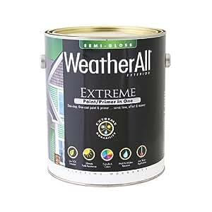 Verdadero valor Mfg Company waesgd-gl waesgd, True Value, Premium Weatherall extrema,/imprimación de pintura en una, 3litros, de profundidad base para exterior brillante satinado pintura