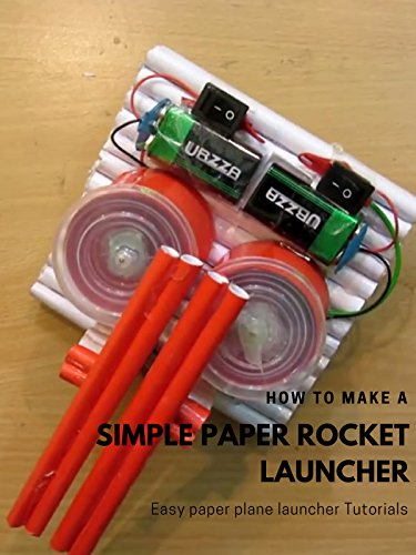 - How to Make a Simple Paper Rocket Launcher - Easy paper plane launcher Tutorials