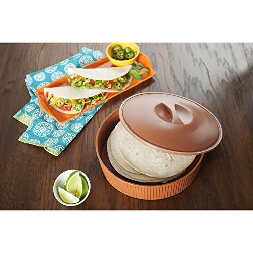 microwave tortilla warmer instructions