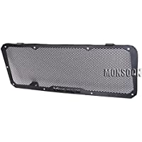 Radiator Grille Guard Cover Fuel Tank Protection For Kawasaki Versys 650 2015-2016 Black