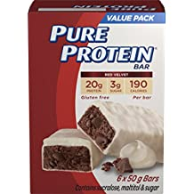 Pure Protein Red Velvet Bar Value Pack, 6 Count