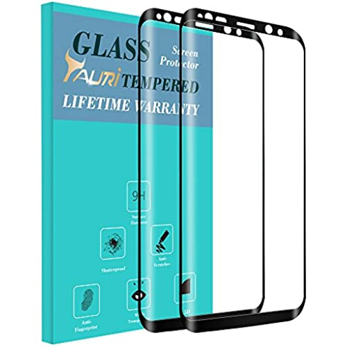 Tauri [2-PACK] For Samsung Galaxy S8 Plus [Full Cover] [Tempered Glass] Screen Protector with Lifetime Replacement Warranty Sales