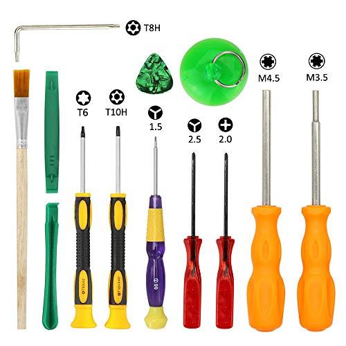 - Nintendo Triwing Screwdriver Sets, EMiEN Professional Screwdriver Repair Tool Kit for Nintendo Switch Joy-Con, Nintendo New 3DS, Wii, Wii U, NES, SNES, DS Lite, GBA Gamecube