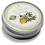 Tea Tree Air Purifier 100% Natural Air Purifier Cream, Kills Mold, Attacks Mildew, Prevents Bacteria, Air Freshener, Air Conditioner - Perfect for home, office, car or boat! ON SALE ? (4.4 oz - 125g)