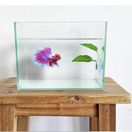 Yangyme 2 Pack Betta Acuario Accesorios Fish Leaf Pad Hamaca Juguetes para Acuario Fish Tank