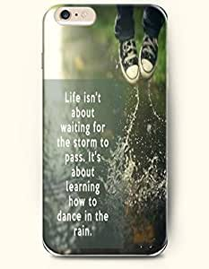 iPhone Case,OOFIT iPhone 6 (4.7) Hard Case **NEW** Case with the Design of life isn't about waiting for the storm to pass, it's about learning to dance in the rain - Case for Apple iPhone iPhone 6 (4.7) (2014) Verizon, AT&T Sprint, T-mobile