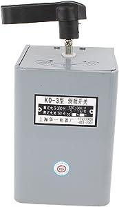 AC 380V 60A Cam Starter Switch Motor Forward Reverse Stop Reversing Drum Change Over Control KO-3 3 Pole