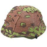 Heerpoint Reproduction WWII German OAK Camo M35 Reversible Helmet Cover