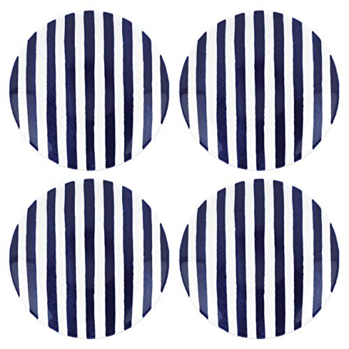 kate spade new york Charlotte Street Porcelain Tidbit Plate, Set of 4