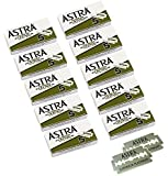 Astra Platinum Double Edge Safety Razor Blades, 50 Blades (10 x 5)